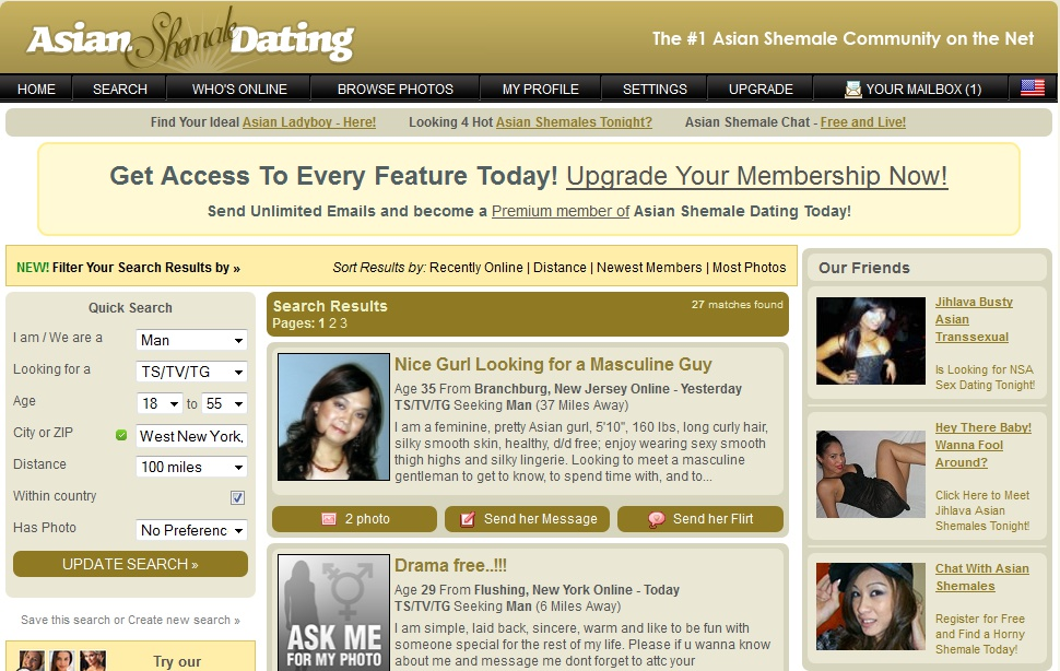 trans asian singles Explore the best shemale porn jasmine movies and galleries, free sex videos full of hardcore tranny pornstar actions, listed by date : face fuck shemale.