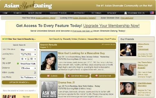 Asian Shemale Dating members